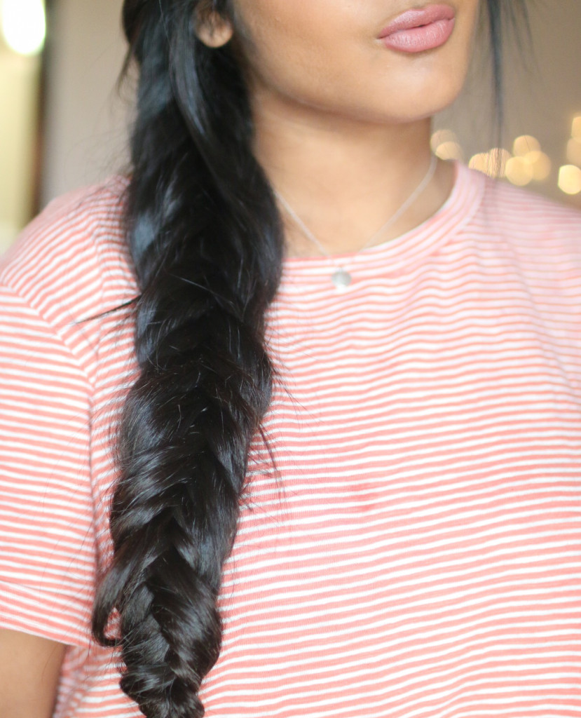 Uneven Fishtail Braid